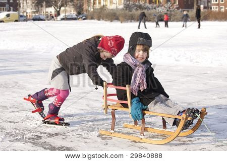Winter Fun On Ice