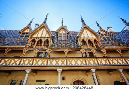 The Hospices De Beaune Is A Former Charitable Almshouse In Beaune