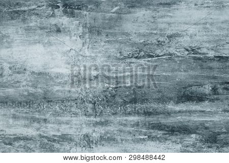 Abstract Pattern On The Wall From The Stains Of Gray Paint. Pattern Wall Stains In Watercolor Style