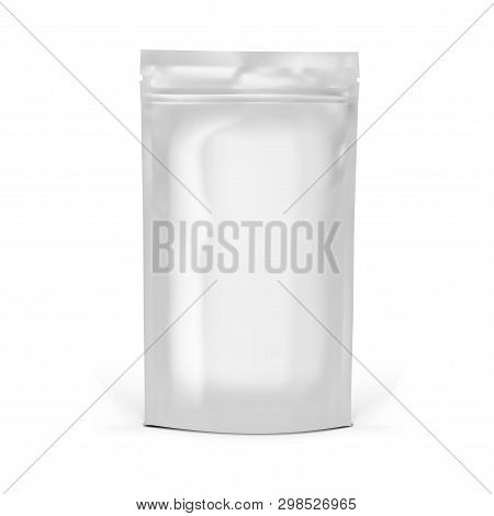 Realistic Various Clear Doy Pack For Branding