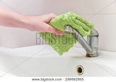 Cleaning The House. Cleaning Chrome-plated Metal Surfaces. Cleaning The Bathroom. Cleaning Of Water