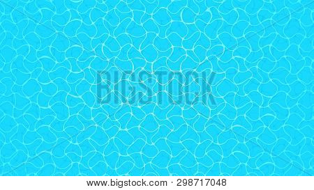 Beautiful Water Surface Texture Top View For Background, Water Surface Ripples, Water Transparent Re
