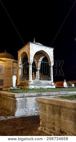 Edirne,turkey, July 28, 2017: The Selimiye Mosque Complex At Edirne Is A Masterpiece Of The Human Cr