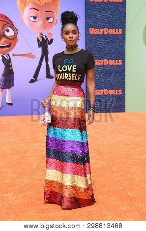 LOS ANGELES - APR 27:  Janelle Monae arrives for the 'Ugly Dolls' World Premiere on April 27, 2019 in Los Angeles, CA