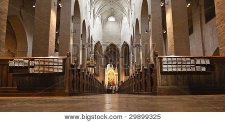 turku, finland: interior of turku cathedral
