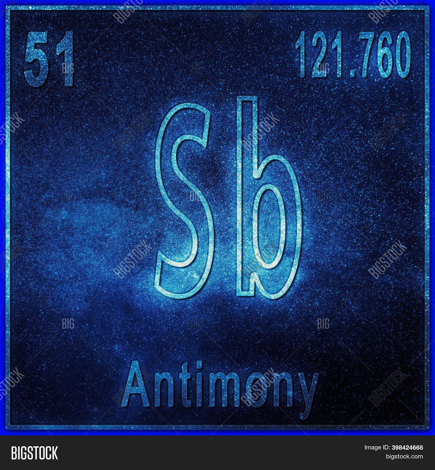 Antimony Atomic Number