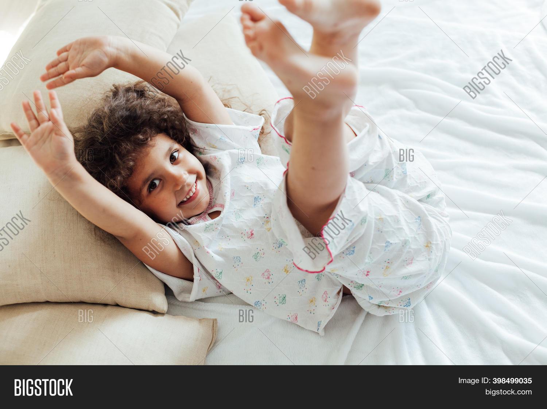 Beautiful Little Girl Image Photo Free Trial Bigstock