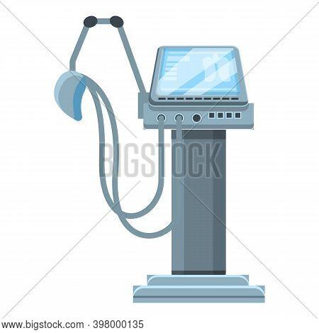 Examination Ventilator Medical Machine Icon. Cartoon Of Examination Ventilator Medical Machine Vecto