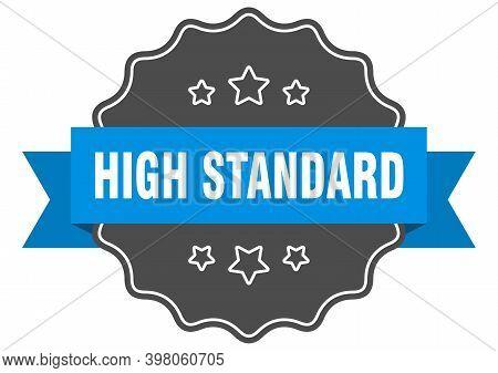 High Standard Blue Label. High Standard Isolated Seal. High Standard