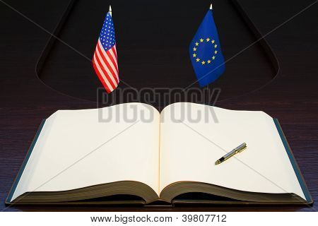 USA and Europe partnership