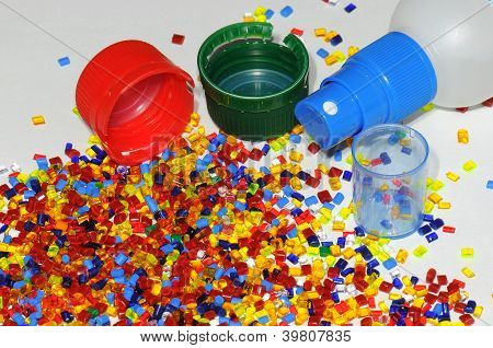 Plastic Parts With Resin