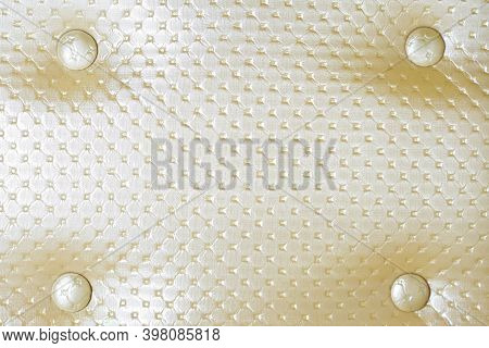 Leather Substitute, Furniture Upholstery, Cream Color, Three-dimensional Drawing, Screen Saver, Back