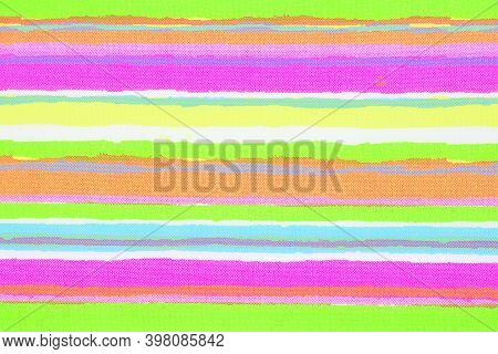Decorative Synthetic Fabric, Pattern, Texture Three-dimensional Drawing, Color Palette, Rainbow, Scr