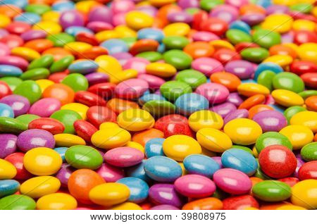 Multi Colored Candies