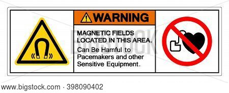 Caution Magnetic Fields Located In This Area Can Be Hamful To Pacemakers And Other Sensitive Equipme