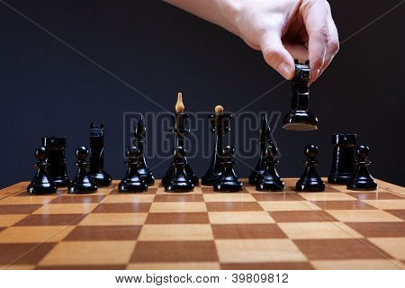 course of the chess knight