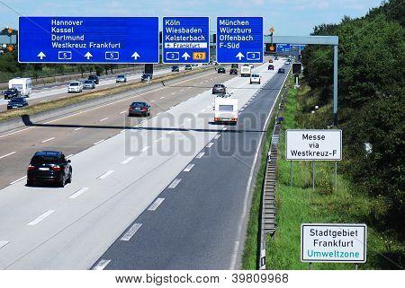Gantry on Highway