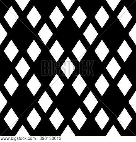 Seamless Pattern.lozenges Wallpaper. Rhombuses Ornament. Diamonds Backdrop. Ethnic Motif. Geometric