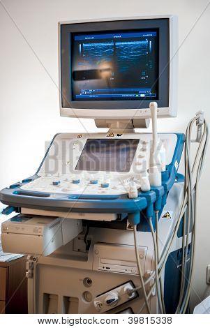Medical Ultrasonography Machine At Hospital