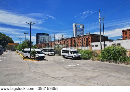 Buenos Aires, Argentina - 23 Dec 2019: The Street In Buenos Aires, Argentina