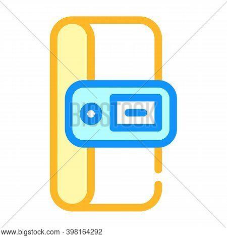Constant Temperature Control Sensor Color Icon Vector Illustration