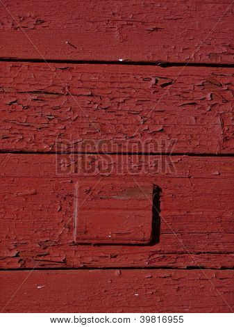 old red wooden wall
