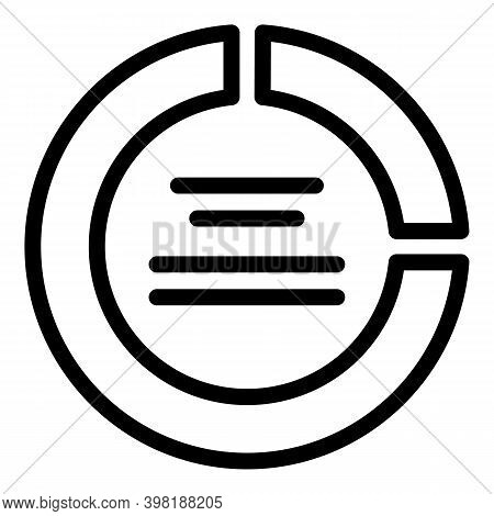 Employee Turnover Icon. Outline Employee Turnover Vector Icon For Web Design Isolated On White Backg
