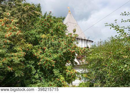 Uglich Tower. Spaso-preobrazhensky Monastery. The City Of Yaroslavl. Yaroslavl. Gold Ring Of Russia