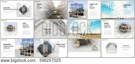Presentation Design Vector Templates, Multipurpose Template For Presentation Slide, Flyer, Brochure