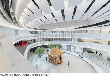 Hong Kong, China  - 17 January, 2019 :  Xiqu Centre, A World-class Arts Venue For Xiqu Or Chinese Op