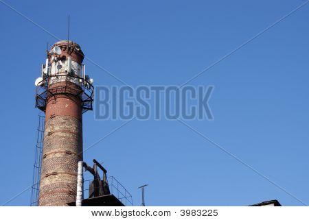 Communication Tower Pipe