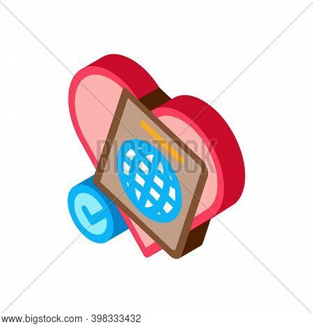 National Tolerance Icon Vector. Isometric National Tolerance Sign. Color Isolated Symbol Illustratio