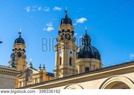 The Theatine Church Of St. Cajetan - Theatinerkirche St. Kajetan, A Catholic Church In Munich, Found