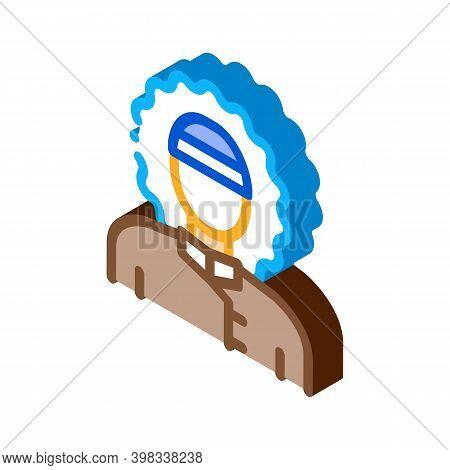 Polar Man Icon Vector. Isometric Polar Man Sign. Color Isolated Symbol Illustration