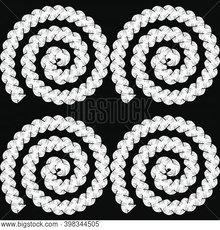 Geometric Shapes From Braids.