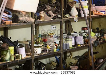 Bad Storage Of Tools And Materials