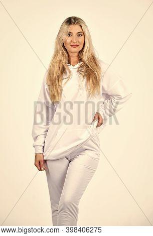 Sport Style. Feel So Sporty. Fitness Woman Wear Sportswear. Impeccable Style. Street Fashion. Girl I