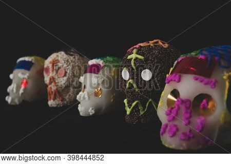 Traditional Sugar / Amaranth Candy Mexican Skull
