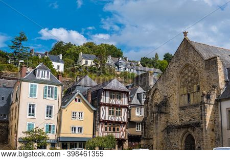 Morlaix, France - August 28, 2019: The Musee Des Beaux-arts De Morlaix Or Musee Des Jacobins Is A Fi