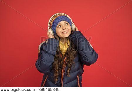 Listening Music. Music Taste. Weekend Begins Like That. Hipster Fashion Trend. Winter Holidays Activ