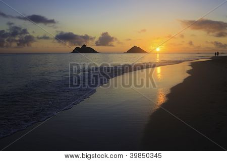 Sunrise At Lanikai