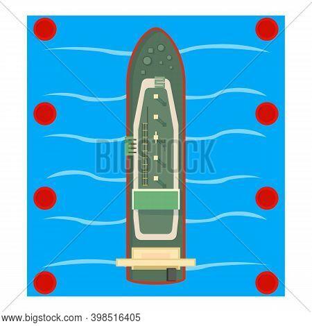 Bulk Carrier Icon. Isometric Illustration Of Bulk Carrier Vector Icon For Web