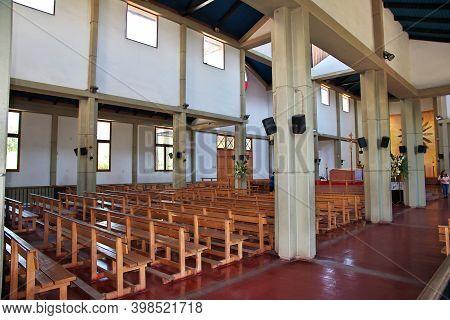 Los Andes, Chile - 31 Dec 2019: Santuario Santa Teresa De Los Andes, The Church In Chile