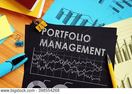Portfolio Management Report With Data And Financial Charts.