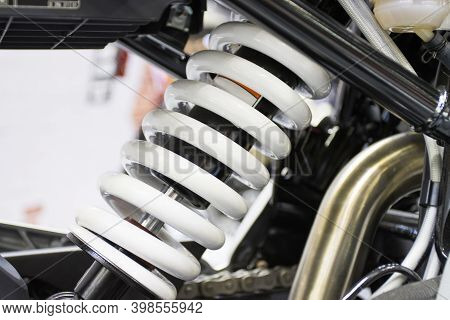 Shock Absorbers A Device For Absorbing Jolts And Vibrations Of  Motorcycle