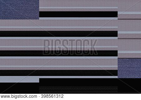 Abstract Graphical Textured Background Of Geometric Shapes Formed By Computer Malfunction