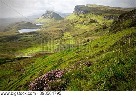 The Quiraing, Isle Of Skye, Outer Hebrides, Scotland