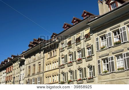 houses in the old town of Bern