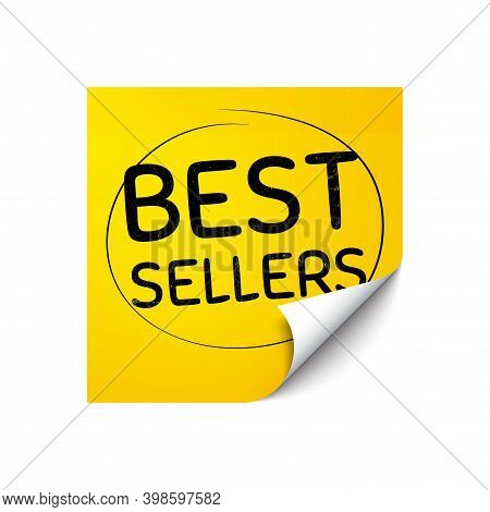 Best Sellers. Sticker Note With Offer Message. Special Offer Price Sign. Advertising Discounts Symbo