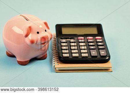 Trading Exchange. Trade Market. Finance Department. Credit Debt Concept. Economics And Finance. Calc